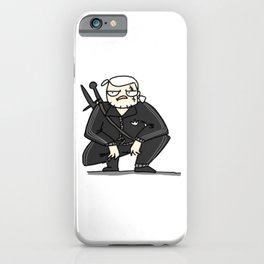 Witcher boys iPhone Case