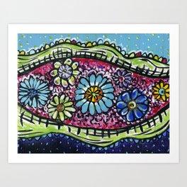 River of Delights/2 Art Print