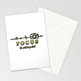 Focus on what is important Stationery Cards