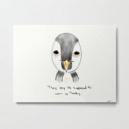 sean penguin Metal Print