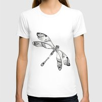 dragonfly T-shirts featuring Dragonfly by Moran Bazaz