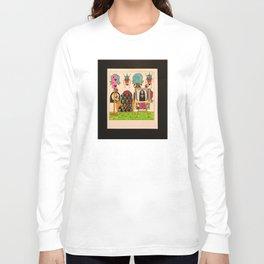 Ahh Sweet Sunday Morning (color) Long Sleeve T-shirt