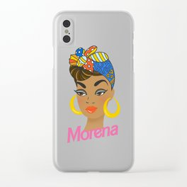 Morena Doll Clear iPhone Case