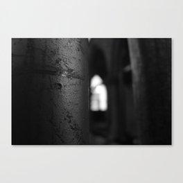 Church scaffold Canvas Print