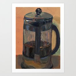 French press Art Print