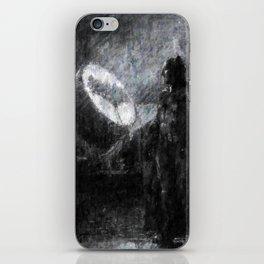 I am Bat man, Impressionism Painting, Dorm Decor, Home Decor, Man Cave, Comic Art iPhone Skin