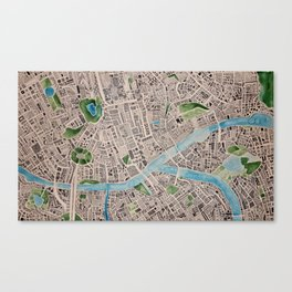 ci. Canvas Print