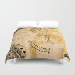 Water Serpents - Gustav Klimt Duvet Cover