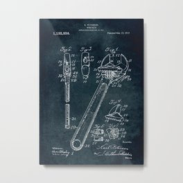 1915 - Wrench Metal Print
