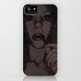 A Dark Personality iPhone Case