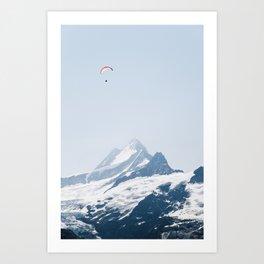 Grindelwald First – Switzerland Art Print
