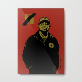 Chuck D - Rebel Without A Pause Metal Print
