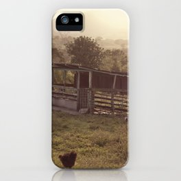 Chicken coop iPhone Case