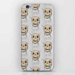 Skull Illusion  iPhone Skin