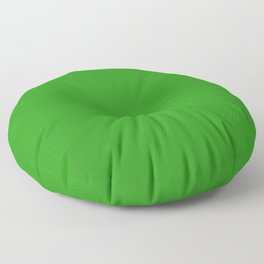 Slimy Green - solid color Floor Pillow