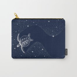Starry Turtle Carry-All Pouch