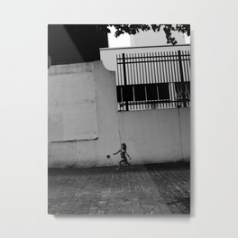 Run girl run Metal Print