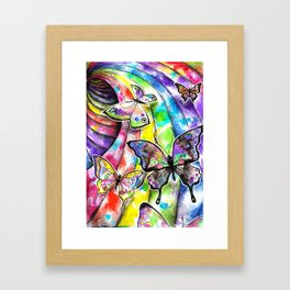 Full Spectrum Butterflies  Framed Art Print