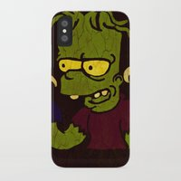 simpson iPhone & iPod Cases featuring Bart Simpson by Jide
