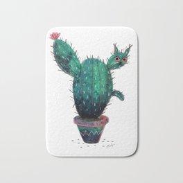 Cactus Cat Bath Mat