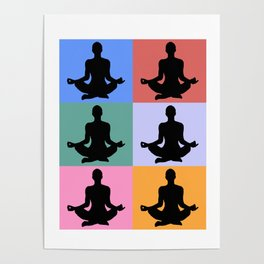 Meditation, Zen design Poster