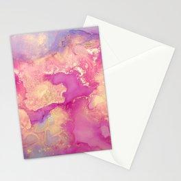 Alcohol Ink - Nebula 2 Stationery Cards