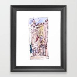 Mark Spencer Hotel Framed Art Print