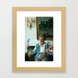 Monsters Among Us Framed Art Print