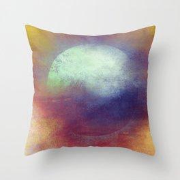 Circle Composition Throw Pillow