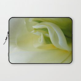 White Tulip by Teresa Thompson Laptop Sleeve