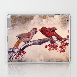 Kissing Cardinals Laptop & iPad Skin