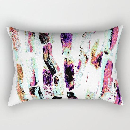 Rainbow Candy Sugar Cane, Spring, First World Problems Rectangular Pillow
