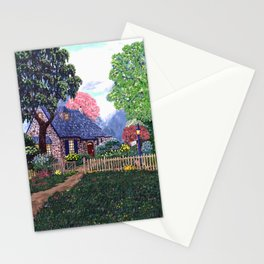 Essex House Cottage by Ave Hurley Stationery Cards
