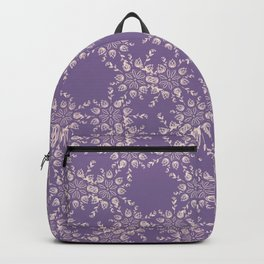 Dusty Purple and Lace Backpack