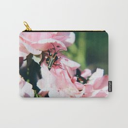 Bug on a Rose Carry-All Pouch
