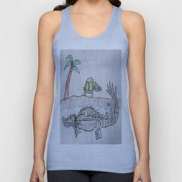 American Alligator Unisex Tank Top