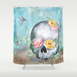 To Sleep, No More Shower Curtain