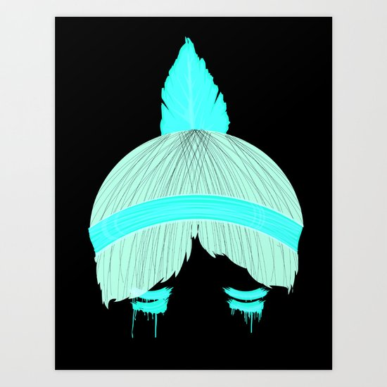 Arrowheads Art Print