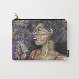 Jazz Singer 1 Carry-All Pouch