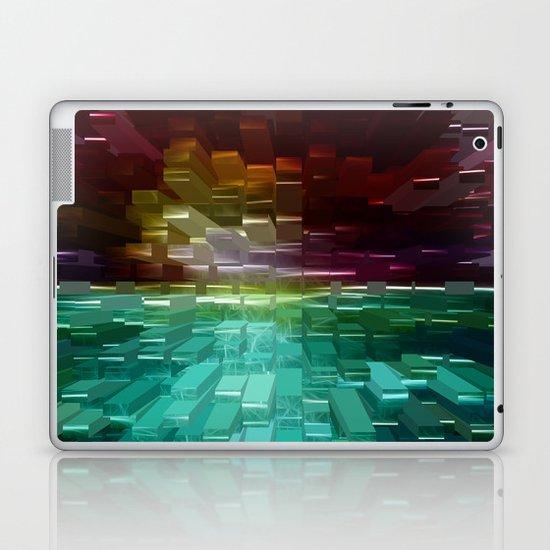 Sunset Burst Laptop & iPad Skin