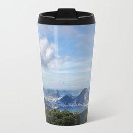RIO DE JANEIRO THE CITY POSTCARD Travel Mug