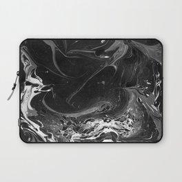 // MARBLED BLACK // Laptop Sleeve