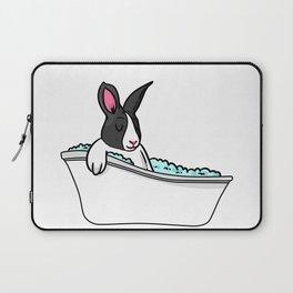 Bathtub bunny Laptop Sleeve