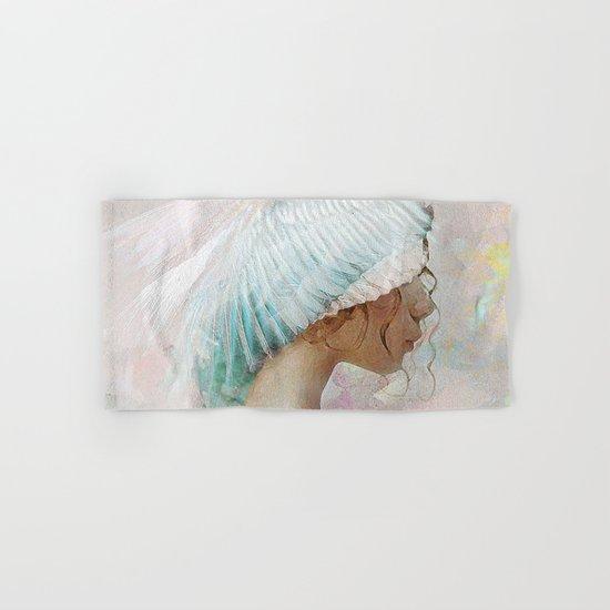 Portrait of a memory Hand & Bath Towel