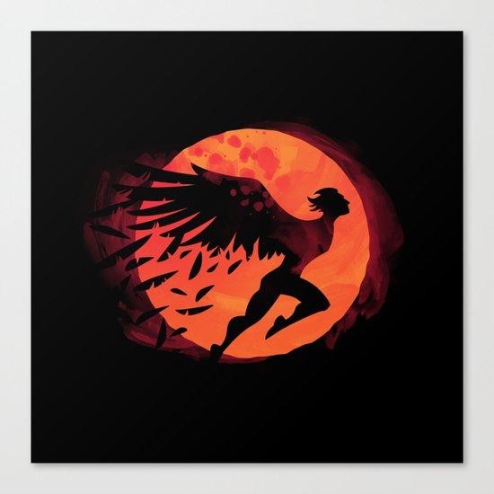 Icarus: Sunset Canvas Print