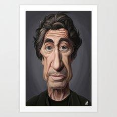Celebrity Sunday ~ Al Pacino Art Print