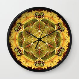 Mandalas for Times of Transition 8 Wall Clock