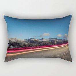 Chasing Light At 10,000 Feet Rectangular Pillow