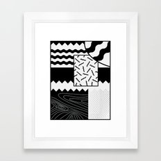 Sharkephant Framed Art Print