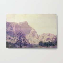 Passing through Terlingua Metal Print